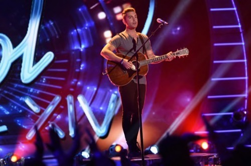 """Nick Fradiani American Idol 2015 """"Only the Good Die Young"""" Video 4/15/15 #IdolTop6"""
