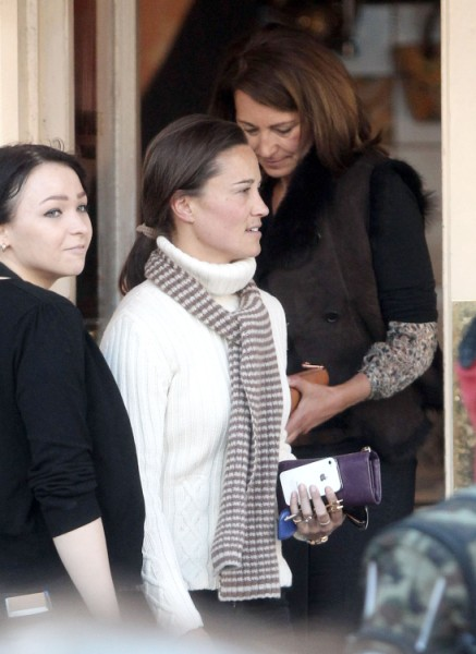 Pippa Middleton Baby Plans Stealing Kate Middleton's Baby Shower Spotlight 0327