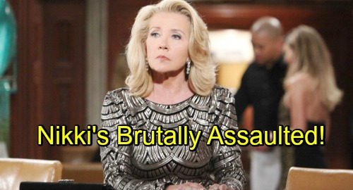 The Young and the Restless Spoilers: Nikki Assaulted, Rushed to Hospital – Cover-up Crew Loses Control During Crisis
