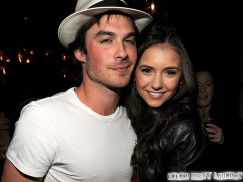 Nina Dobrev and Nikki Reed Battle Over Ian Somerhalder - 'The Vampire Diaries' PDA Puts Engagement  in Jeopardy?