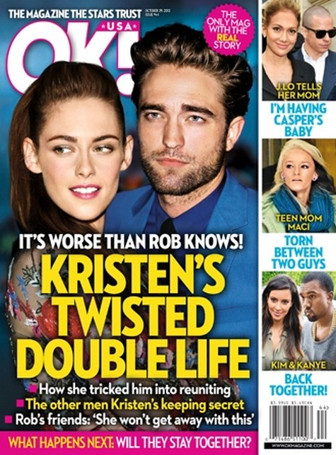 What Robert Pattinson Does Not Know:  Kristen Stewart's Twisted Double Life!