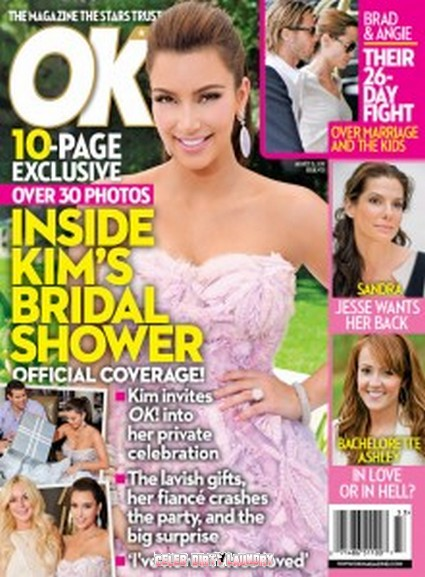 OK! Magazine: Inside Kim Kardashian's Bridal Shower