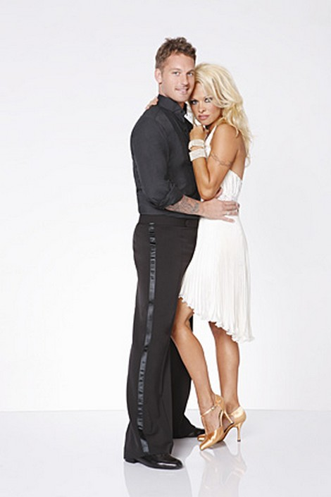 Pamela Anderson Dancing With The Stars All-Stars Cha-Cha-Cha Performance Video 9/24/12