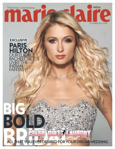 Paris Hilton Covers Marie Claire India's October 2011 Issue