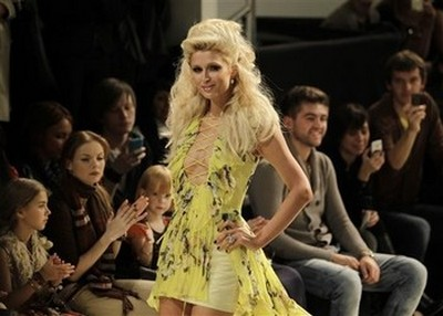 Paris Hilton Looks Amazing As She Walks The Runway In Ukraine (Photos)