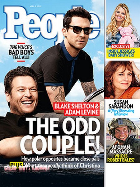 Blake Shelton & Adam Levine: Inside Their Friendship (Photo)
