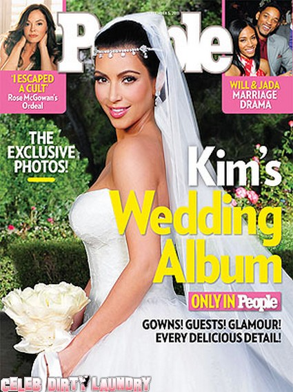 People Magazine: Kim Kardashian's Wedding Album