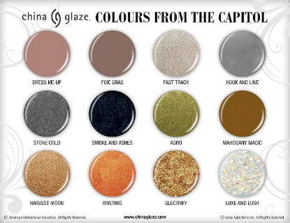 'Hunger Games' Nail Polish Line Gets The Green Light!