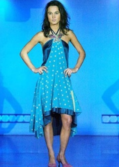 Pippa Middleton Modelling For A University Fashion Show