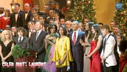 Justin  Bieber and President Obama Sing Together (Video)