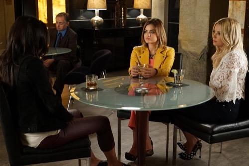 Pretty Little Liars Recap - Ezra Returns, Spencer Suspects Melissa Of Murdering Charlotte: Season 6 Episode 16