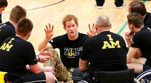 Prince Harry's Positive Message For Athletes - Praises 'Invictus Spirit' Even Though Invictus Games Postponed