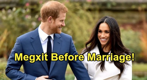 Prince Harry & Meghan Markle's New Book Bombshell - Couple Discussed Megxit Before Marrying