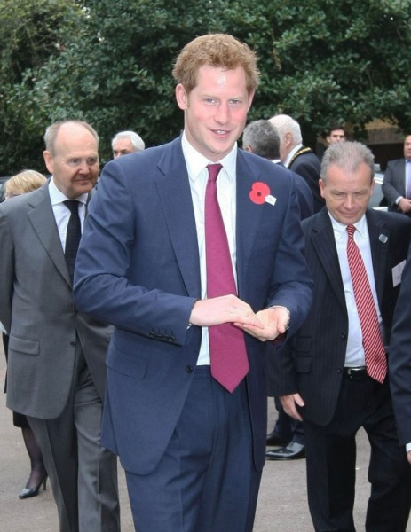 Did prince harry reveal kate middletons babys sex