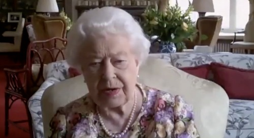 Queen Elizabeth Makes First Ever Video Call - Honors Caregivers With Princess Anne