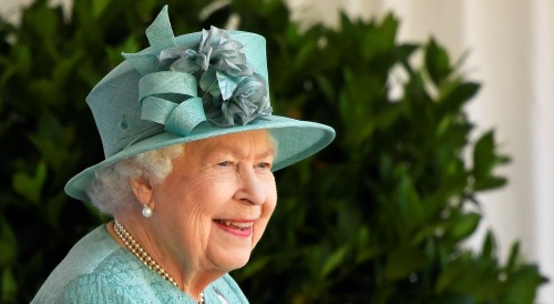 Queen's birthday marked with socially distanced event at Windsor Castle