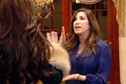 "The Real Housewives of New Jersey LIVE Recap: Season 7 Episode 5 ""Dinner Interrupted"""