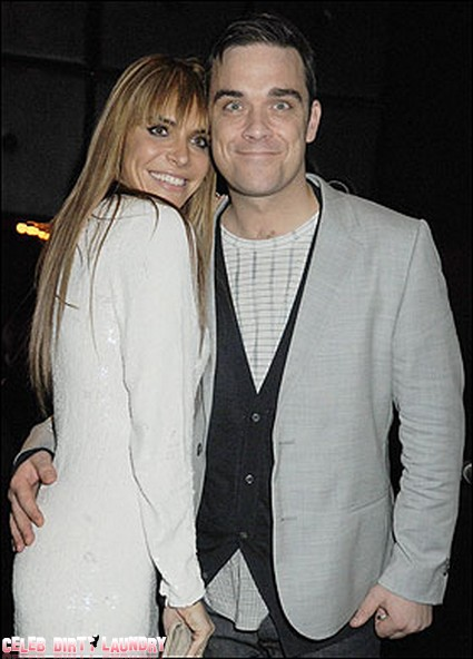 Former Wild Man Of Rock Robbie Williams Is Going To Be A Dad