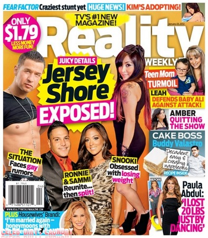 Jersey Shore's Juicy Secrets Exposed (Photo)