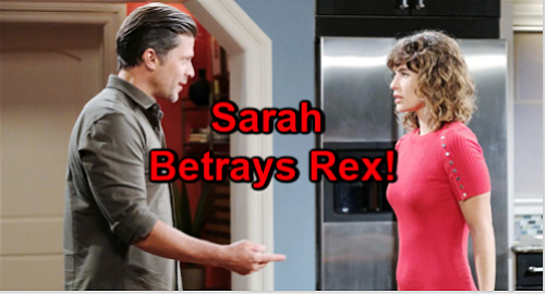 Days of Our Lives Spoilers: Sarah's Hot Eric Fantasy Leads to Trouble – Temptation Too Much, Rex Betrayed
