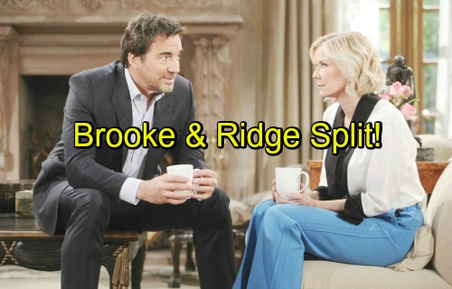 The Bold and the Beautiful Spoilers: Hope's Pregnancy Ignites Full-Scale War Between Brooke and Ridge - Divorce Imminent