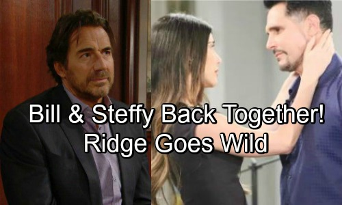 The Bold and the Beautiful Spoilers: Ridge Furious As Bill And Steffy Unite As A Couple