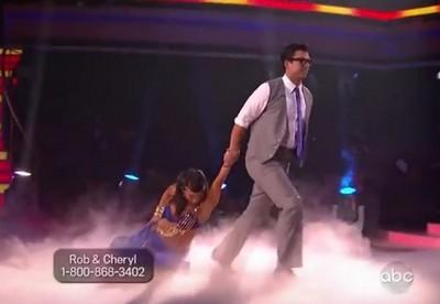 Rob Kardashian and Professional Dancer Cheryl Burke Dancing With The Stars Paso Doble (Video)