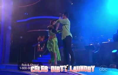 Rob Kardashian's Dancing With The Stars Rumba Video 10/17/11