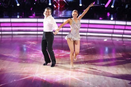 Robert Herjavec and Kym Johnson Dancing With The Stars Dating: Kym Sending Diane Plese a Message With Passionate Public Kiss?