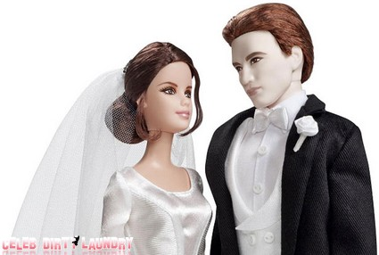 Kristen Stewart and Robert Pattinson Become Barbie Dolls (Photo)