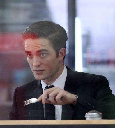 More Cosmopolis Shooting For Robert Pattinson!