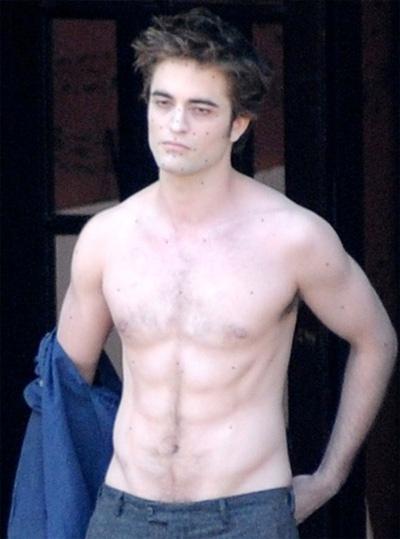 Robert Pattinson Struggles To Stay Buff