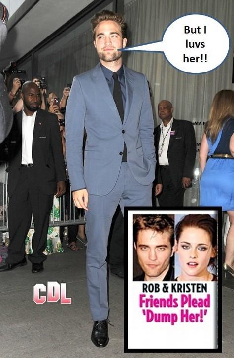 Robert Pattinson's Friends Beg Him To Dump Kristen Stewart For Good 0815