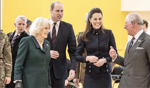 Prince Charles and Camilla Parker-Bowles Are Now Part Of The 'Fab Four'