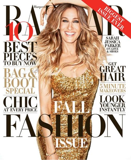 Sarah Jessica Parker Talks Marraige To Matthew Broderick In Harper's Bazaar!