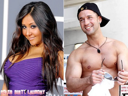 Snooki And Mike 'The Situation' Sorrentino Say Bye Bye To Jersey Shore?
