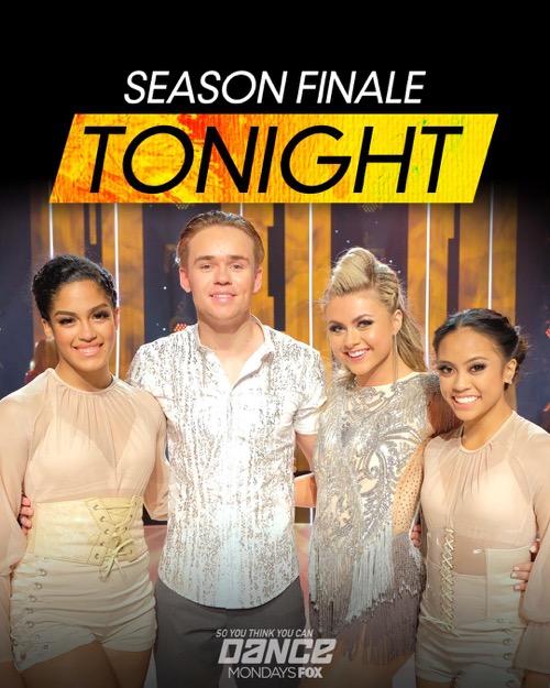 "So You Think You Can Dance (SYTYCD) Finale Recap 9/10/18: Season 15 Episode 14 ""Winner Announced"""