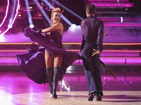 Sabrina Bryan Dancing With the Stars All-Stars Disco Performance Video 10/15/12