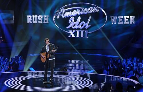 """Sam Woolf American Idol """"Just One"""" Video 3/5/14 #IdolTop12"""