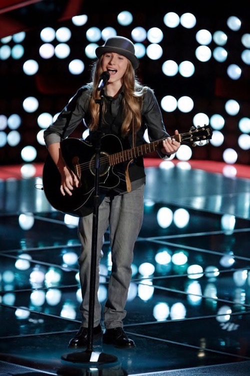 """WATCH Sawyer Fredericks Perform """"For What It's Worth"""" on The Voice Semi-Final Video 5/11/15"""