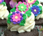 Flower Bouquet Cupcake Recipe For Mother's Day