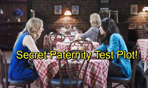 Days Of Our Lives Spoilers: Abigail and Gabi Conspire To Run Secret Paternity Test - Deviously Take DNA From Chad and Stefan