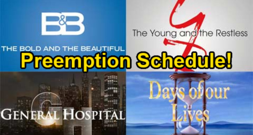 See Which Soaps Are Preempted For Biden Presidential Inauguration Day - Wednesday, January 20 TV Schedule