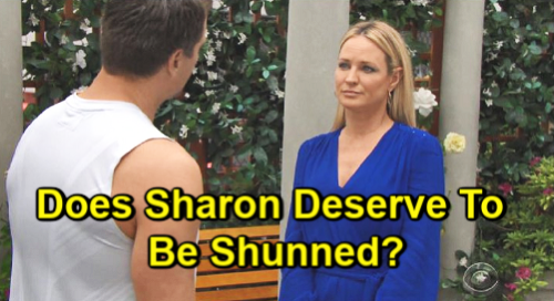 The Young and the Restless Spoilers: Sharon Gets Hate for Supporting Adam - Does She Deserve Town Pariah Status?