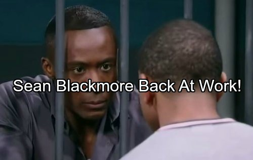 General Hospital Spoilers: Sean Blakemore's Back At Work But Out of Sonny's Orbit – Check Out the Details
