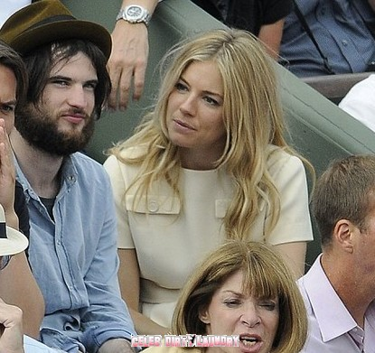 Sienna Miller and Tom Sturridge Enjoy The French Open Together