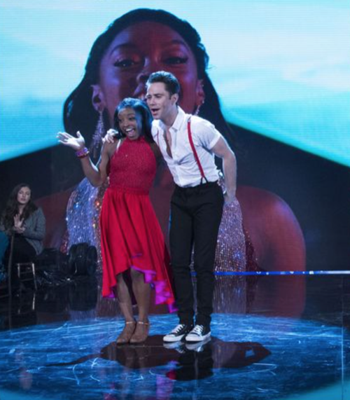 WATCH Simone Biles Dancing With The Stars Semi-Finals Rumba Video: Season 24 Episode 9 #DWTS