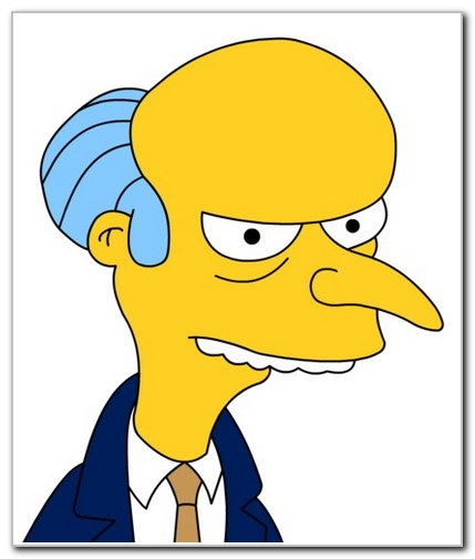 The Simpsons Mr. Burns' Pay Cut Offer Refused