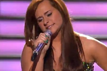 Skylar Laine American Idol 2012 'Wind Beneath My Wings' Video 4/4/12
