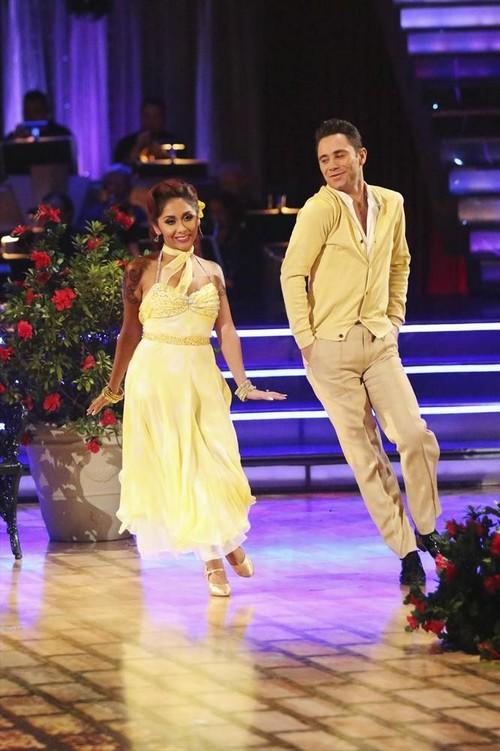 "Nicole ""Snooki"" Polizzi Dancing With the Stars Samba Video 10/28/13"